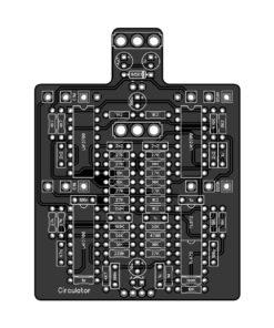 PedalPCB Circulator PCB