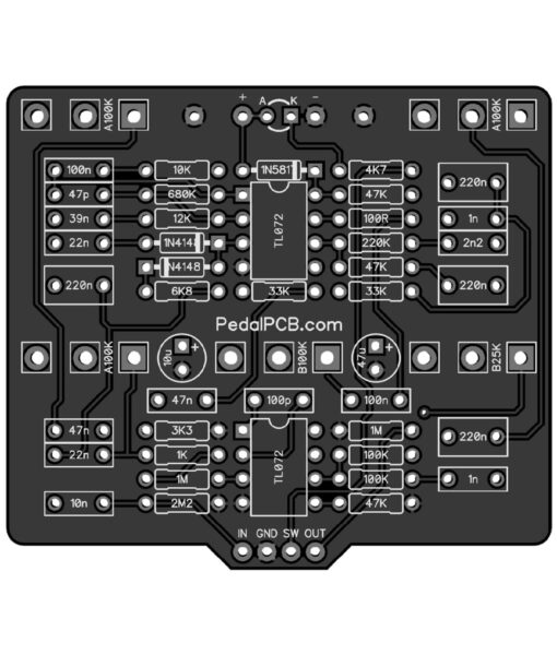 PedalPCB Oroku Drive PCB Preview
